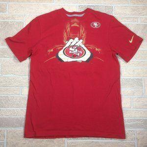 San Francisco 49ers Nike Men's Medium Cotton Shirt